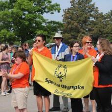 Torch Parade through Burlington